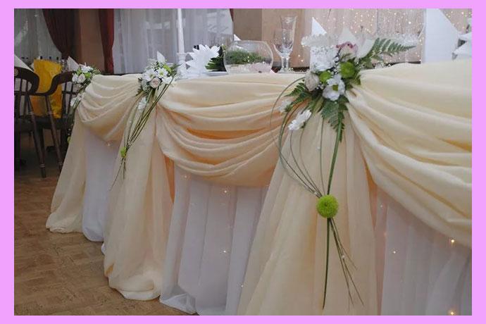 Свадебный декор айвори