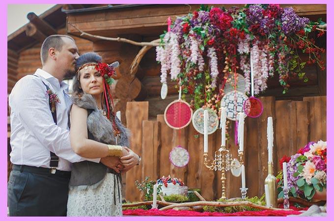 Свадебный декор цыганский стиль