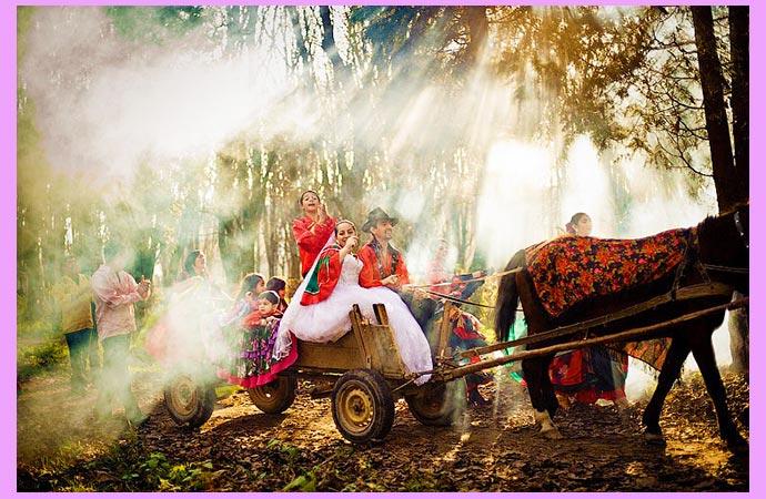 Свадебный цыганский декор