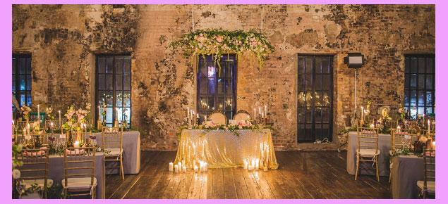 Свадебный декор лофт