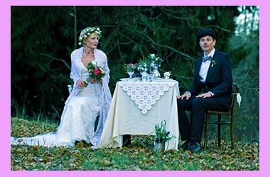 Жених и невеста ирландский стиль