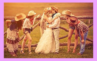 Ковбойская свадьба