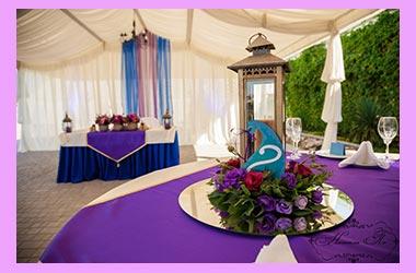 Свадебный декор марокко