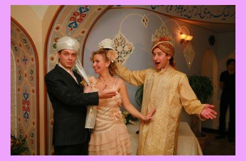 Сюжет восточной свадьбы