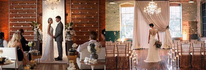 Сюжеты свадьбы в лофт стиле