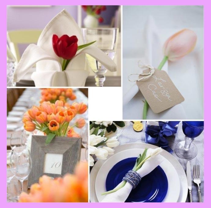 Детила тюльпановой свадьбы
