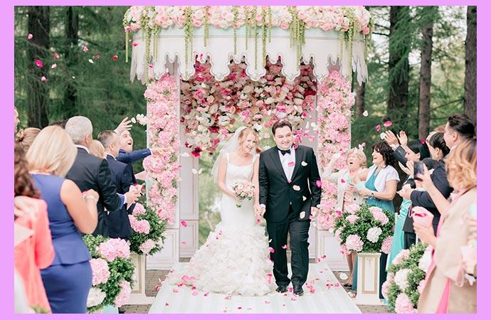 Французский стиль свадьбы