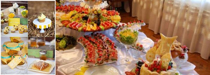 Блюда на медовой свадьбе