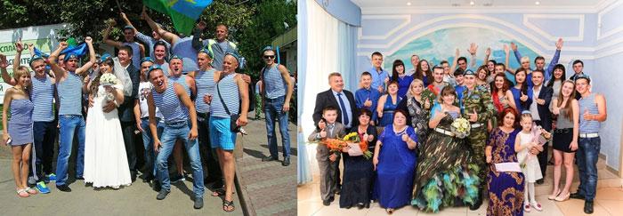Свадебные костюмы гостей