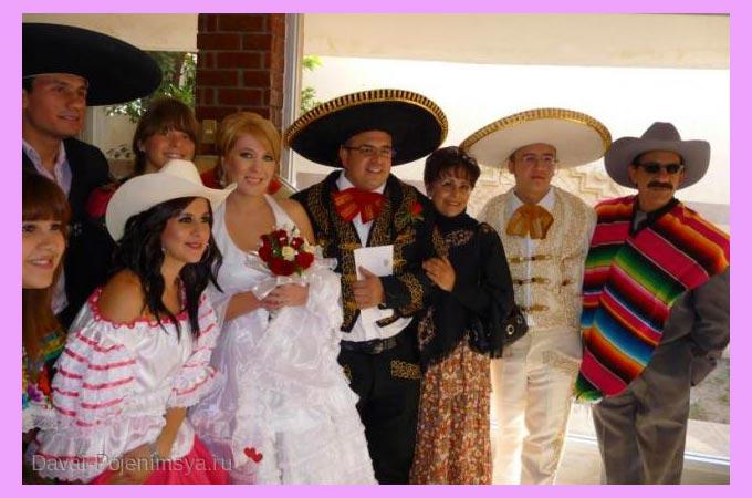Наряды молодожен и гостей на свадьбе