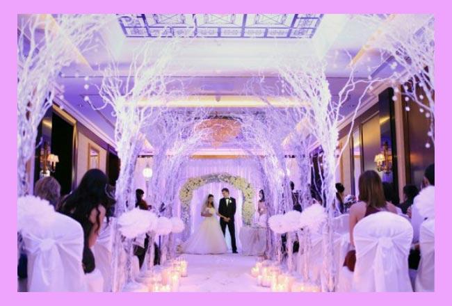 Свадьба в стиле зимней сказки