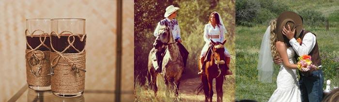 Сюжеты ковбойской свадьбы