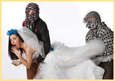 Сценка кражи невесты