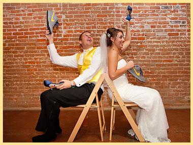 Конкурс для жениха и невесты