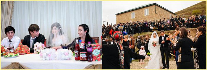 Дагестанская свадьба первый и второй день