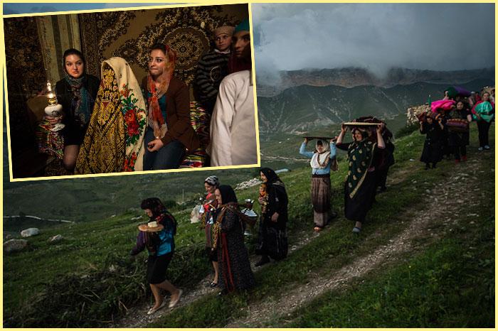 Смотрины перед дагестанской свадьбой