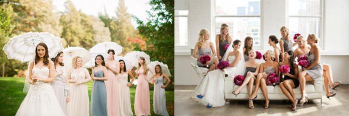 Наряды женщин на свадьбе