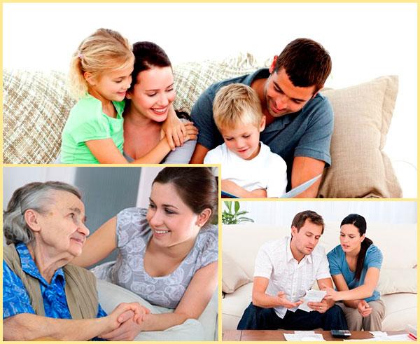 Воспитание детей и забота о родителях