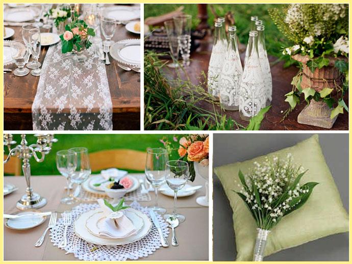 Декоры на кружевную свадьбу
