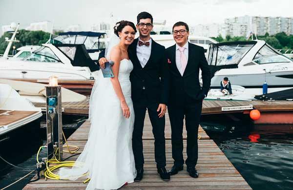 выбрали ведущего на свадьбу