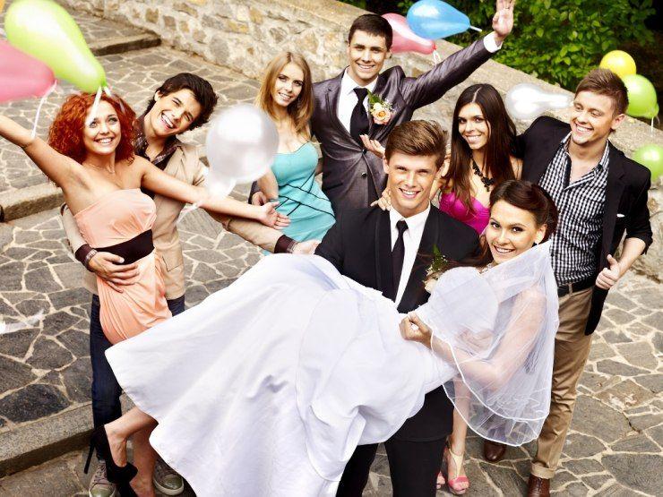 Организовать свадьбу собственными силами