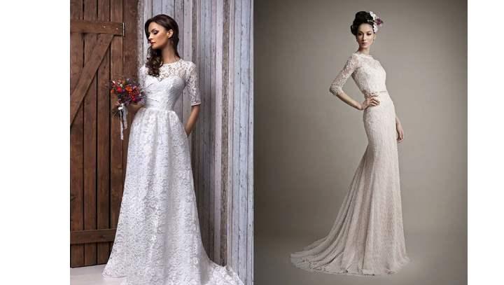 2 платья невесты