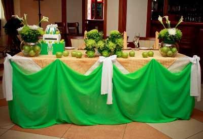 Декор фруктовой свадьбы