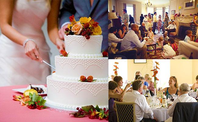 Домашнее торжество и празднование свадьбы