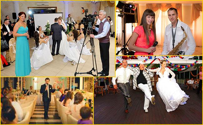 Зона для танцев и музыкантов на свадьбы