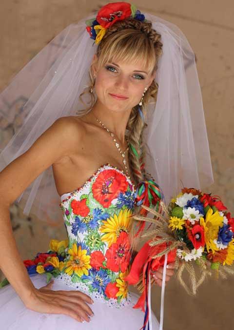 невеста_в_украинском_стиле