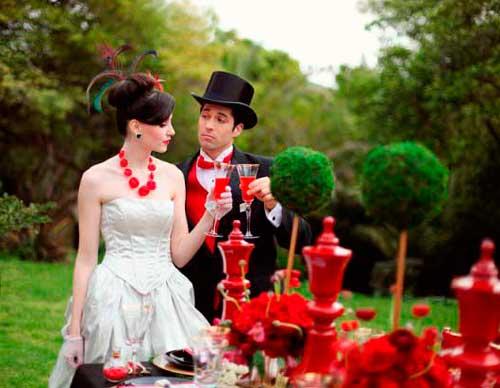 Образ жениха на свадьбе Алисы