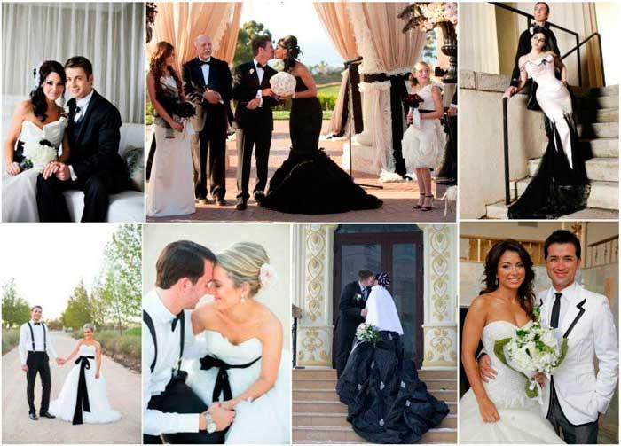 Образ жениха и невесты на свадьбе