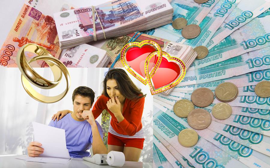 Подсчет расходов на свадьбу