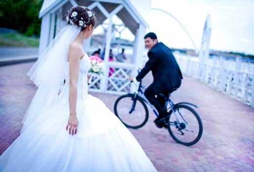 Съемка свадебного лавстори