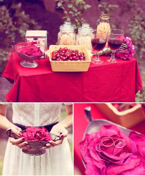Вишневая свадьба в саду