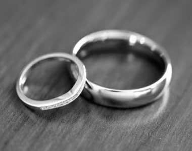 Кольца из никеля на свадьбу