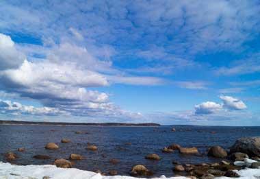 Места на финском заливе