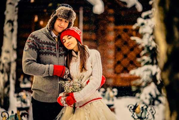 Проведение русской зимней свадьбы