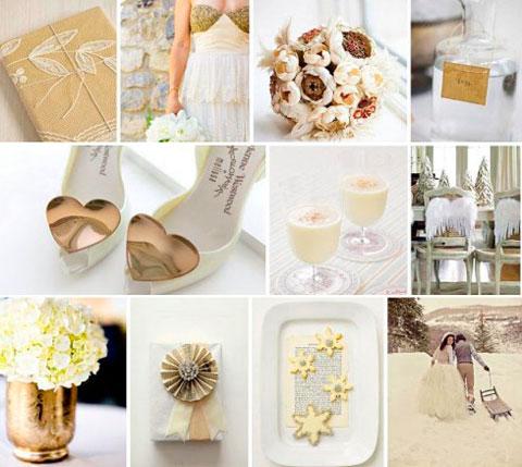 Бело-кремовая свадьба