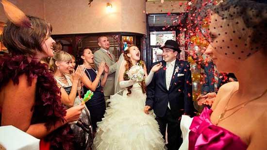 Розыгрыши по свадебному сценарию