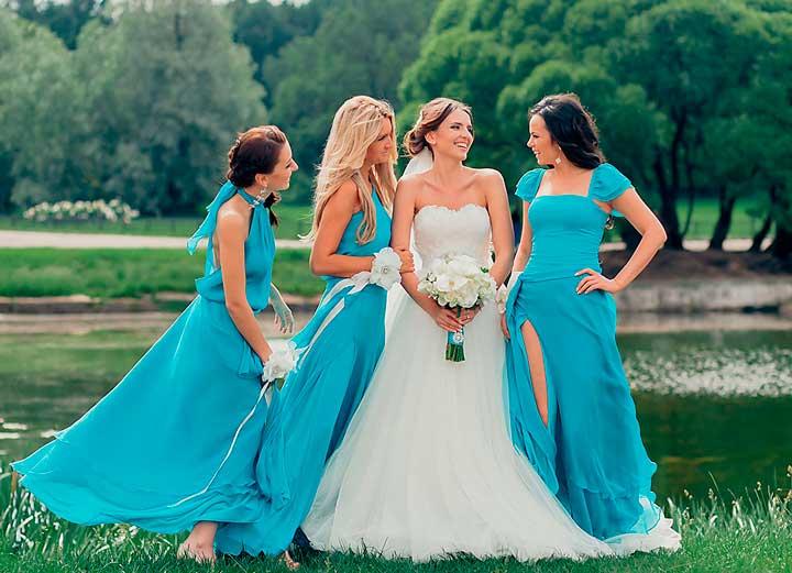 Видео свадьбы в стиле Тиффани