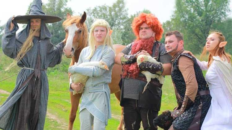 Лошадь на свадьбе