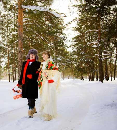 Выкуп зимней свадьбы