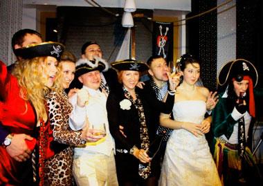 Производим выкуп невесты в пиратском стиле