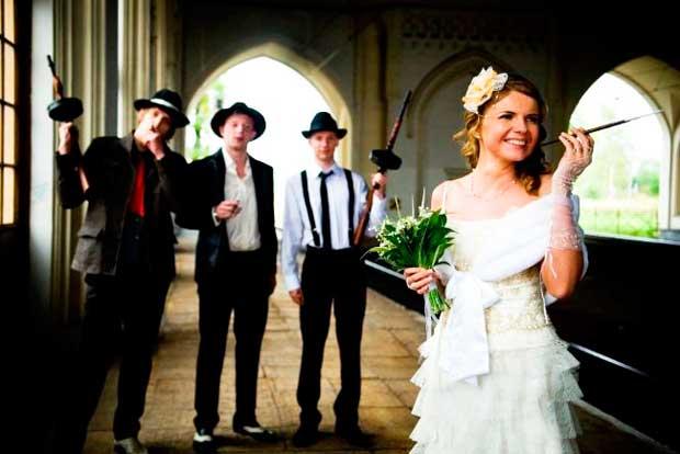 Выкуп невесты в стиле мафии
