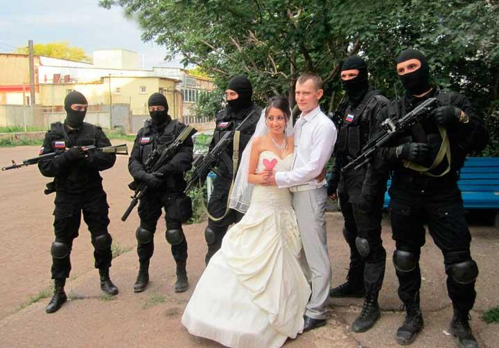 Выкуп невесты с автоматами