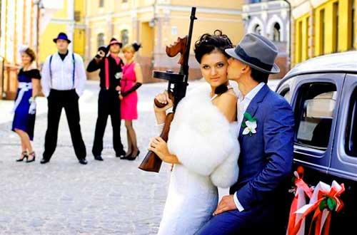 Ганстерский выкуп на свадьбе
