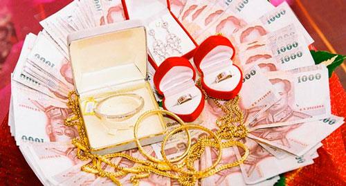 Деньги для свадебного выкупа