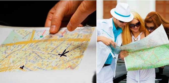 Найти на карте