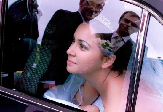 Невесту везут в загс